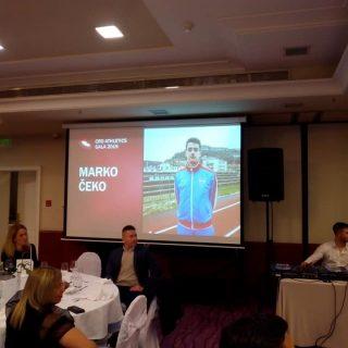 Hrvatski atletski savez: Marko Čeko proglašen najboljim juniorom Hrvatskegall-3