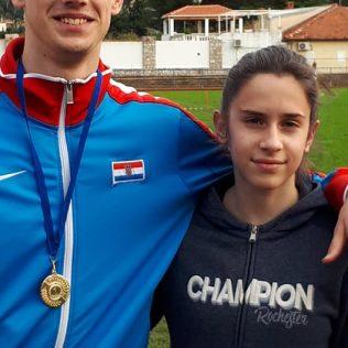 Seniorska zlata Marka Čeke i Daniele Jelić na 60m na Otvorenom prvenstvu Dubrovnikagall-0