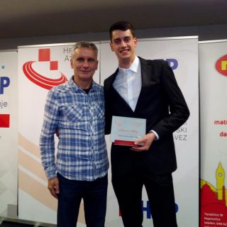 Hrvatski atletski savez: Marko Čeko proglašen najboljim juniorom Hrvatskegall-0