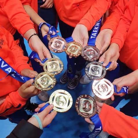 Devet medalja TK Olympica na Dječjem taekwondo festivalugall-1