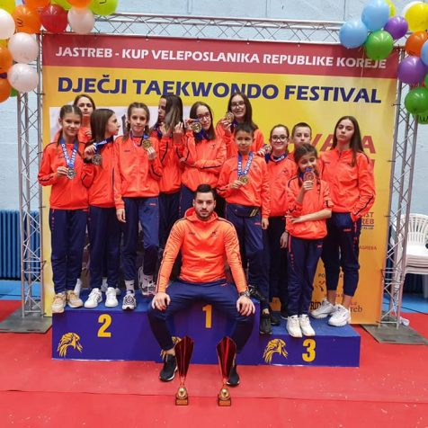 Devet medalja TK Olympica na Dječjem taekwondo festivalugall-0