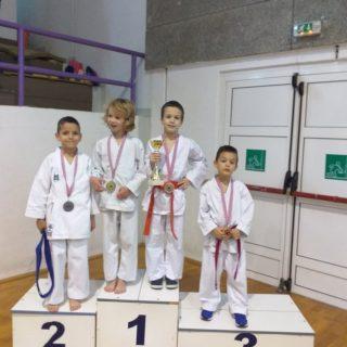 Ivan Krvavica iz KK Tigar pobjednik Dalmatinske karate ligegall-2
