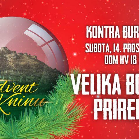 U subotu ne propustite Veliku božićnu priredbu Adventa u Kninu!gall-0