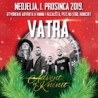 Božićnom povorkom i koncertom Vatre večeras započinje najbolji Advent u Kninu do sada!gall-1