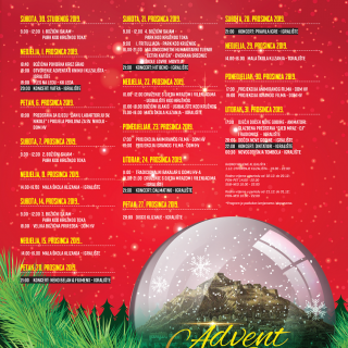 Božićnom povorkom i koncertom Vatre večeras započinje najbolji Advent u Kninu do sada!gall-2