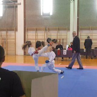 Pet bronci Karate kluba Knin u Dalmatinskoj ligigall-2