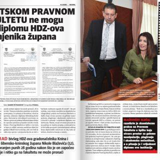 Nacional: Na Pravnom fakultetu nemaju diplomski rad šibensko-kninskog dožupana Nikole Blaževićagall-1