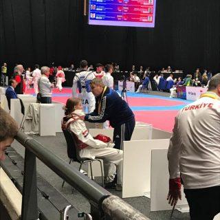 Kristina Jakovljević na korak do medalje u Švedskojgall-3