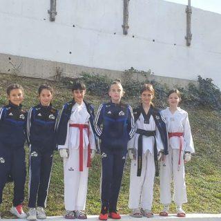 Drugo ekipno mjesto mlađih kadetkinja TK DIV Knin na Dalmacija Kupugall-3