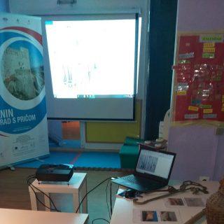 Radionice za djecu projekta 'Knin grad s pričom' odvijaju se online!gall-0
