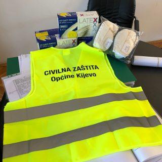 Županijski Stožer civilne zaštite podijelio zaštitnu opremu općinskim i gradskim stožerimagall-1