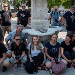 Članovi Foto kluba Knin s kolegama iz Zagreba i Šibenika slikali staru jezgru gradagall-10