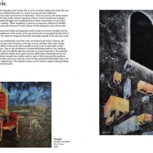 Kninjanka Anđela Tucaković izabrana da predstavi svoje radove na web platformi Firentinske suvremene galerijegall-2