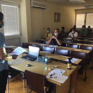 U sklopu projekta 'Razvoj partnerskog vijeća za tržište rada ŠKŽ' održane edukacije o poduzetništvu za nezaposlene osobegall-1