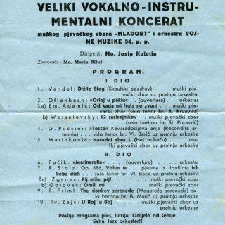 Pogledajte plakate, programe i utiske sa simfonijskih koncerata u Kninu 1938. i 1939. godinegall-0
