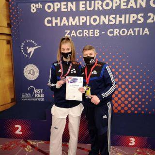 Kristina Jakovljević juniorska klupska viceprvakinja Europegall-1