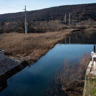 Foto: Danas se postavlja pješački most na Orašicigall-2