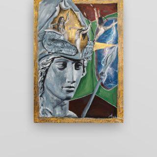 Kninska slikarica Anđela Tucaković izlaže na internacionalnim izložbama (London, Atena, Genova)gall-0