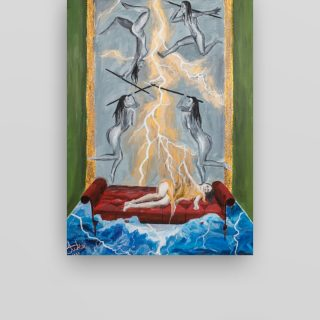 Kninska slikarica Anđela Tucaković izlaže na internacionalnim izložbama (London, Atena, Genova)gall-1