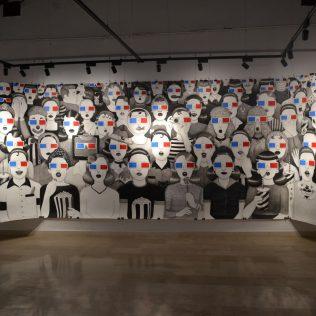 """Otvorena izložba Ivane Mrčele """"We are watching you""""gall-0"""