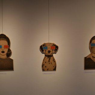 """Otvorena izložba Ivane Mrčele """"We are watching you""""gall-2"""