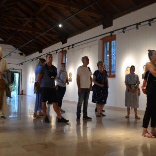 """Otvorena izložba Ivane Mrčele """"We are watching you""""gall-8"""