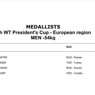 Izvrstan rezultat na G2 turniru: Josip Teskera brončani na President's Cupu u Švedskojgall-2