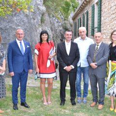 """Ministar vanjskih poslova otvorio na tvrđavi izložbu """"Hommage Virgiliju Nevjestiću""""gall-0"""