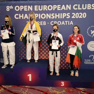 Kristina Jakovljević juniorska klupska viceprvakinja Europegall-0