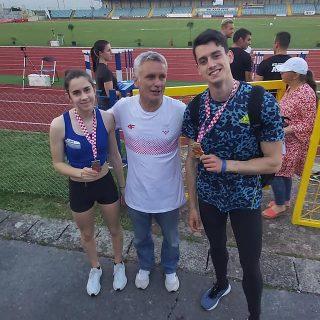 Marko Čeko prvak Hrvatske u dalju; Daniela Jelić viceprvakinja na 100 metaragall-1
