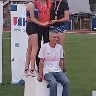 Marko Čeko prvak Hrvatske u dalju; Daniela Jelić viceprvakinja na 100 metaragall-2