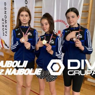 Ana Marija Mikulić kadetska prvakinja Hrvatske; Nika Dodik i Lana Sigut brončanegall-0