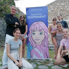 Na tvrđavi predstavljen roman za djecu Damira Hoykegall-4
