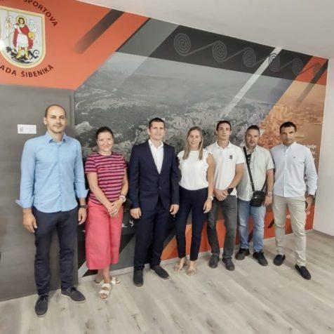 Osnovan županijski Gimnastički savez; Predsjednik Mario Škegro iz GK Kningall-0